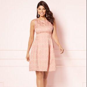 Eva Mendes for NY&Co pink dress